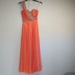 Jovani prom, party, special ocasion, jeweled dres